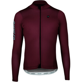 Biehler Signature³ Midweight L/S Jersey Heren, red pear